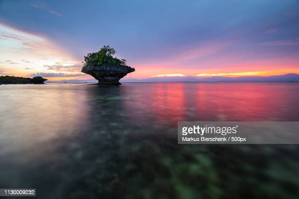 cebu sunset - cebu stock-fotos und bilder