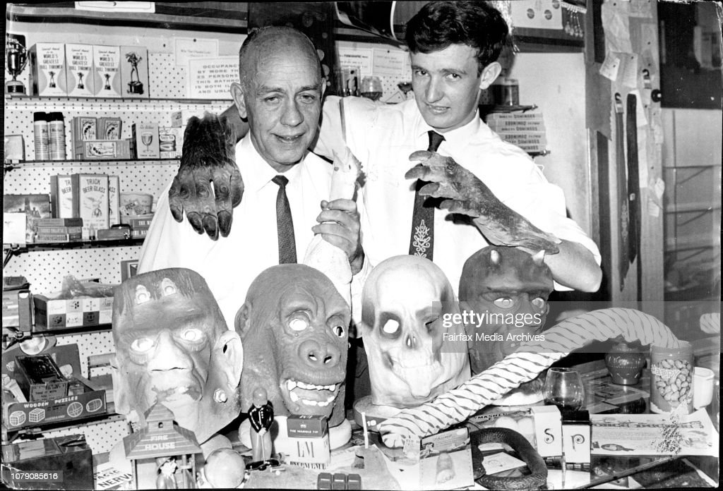 7c151d6be360a Cec and Alan Cook in their Magic Shop.   News Photo