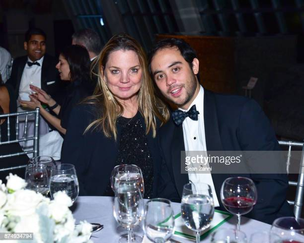 CeCe Coffin and Nicholas Ma attend The Aga Khan Foundation Gala at The Metropolitan Museum of Art on November 15 2017 in New York City