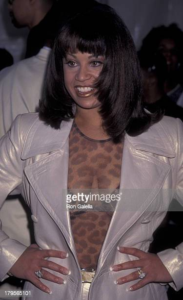 CeCe Peniston attends 10th Annual Soul Train Music Awards on March 29 1996 at the Shrine Auditorium in Los Angeles California