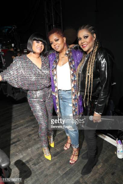 CeCe Peniston, Robin S., and Crystal Waters attend Black Girls Rock 2019 Hosted By Niecy Nash at NJPAC on August 25, 2019 in Newark, New Jersey.