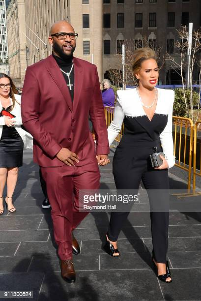 CeCe Sebastian and Amber Sabathia attends Roc Nation THE BRUNCH on January 27 2018 in New York City