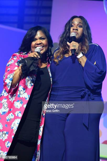 Cece Winans and Kelly Price perform onstage at the 2017 ESSENCE Festival presented by CocaCola at Ernest N Morial Convention Center on July 2 2017 in...