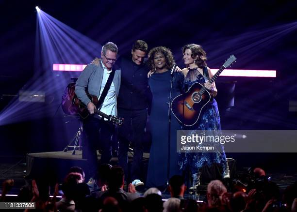 CeCe Winans performs at the 50th Annual GMA Dove Awards on October 15 2019 in Nashville Tennessee