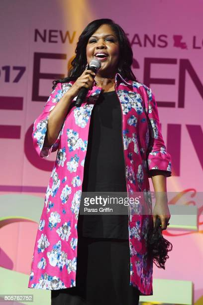 Cece Winans performs onstage at the 2017 ESSENCE Festival presented by CocaCola at Ernest N Morial Convention Center on July 2 2017 in New Orleans...