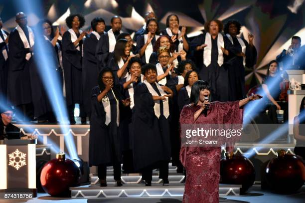 CeCe Winans performs onstage for CMA 2017 Country Christmas at The Grand Ole Opry on November 14 2017 in Nashville Tennessee
