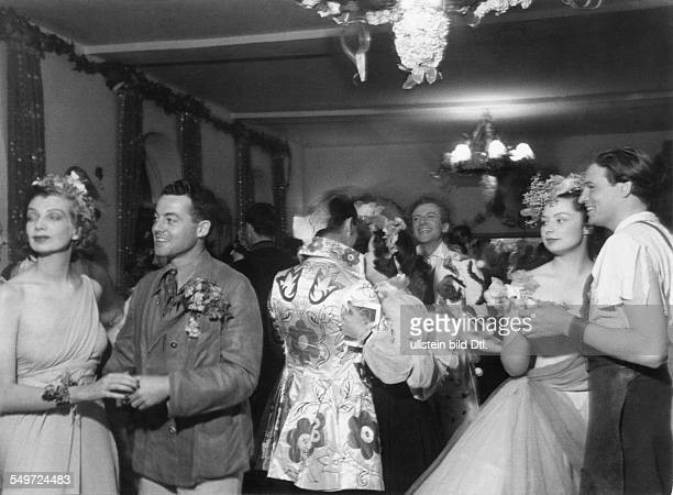 Cecil Beaton, summer party on his country house Ashcombe - Ballroom at Ashcombe house