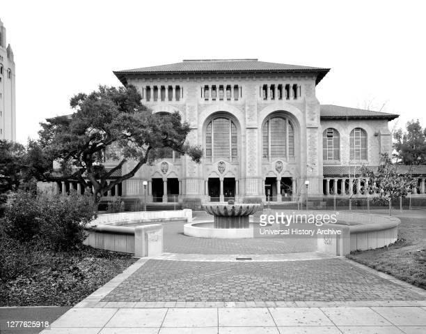 Cecil H. Green Library , Stanford University, Palo Alto, California, USA, Historic American Buildings Survey.
