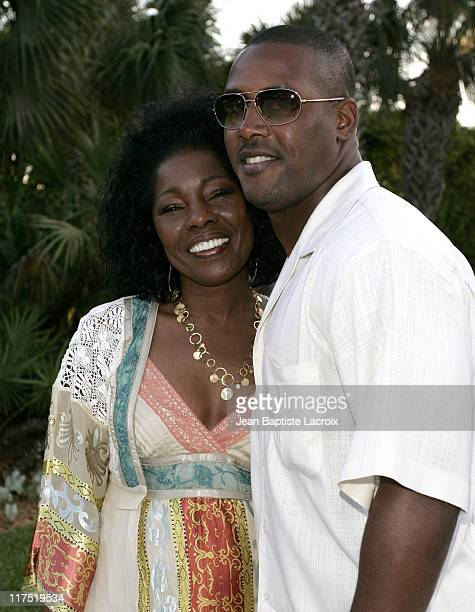 Cecil Hayes and Ty Law during 9 Steps to Beautiful Living - Launch Party - Hosted by Timbaland at Timbaland's Home in Miami, Florida, United States.