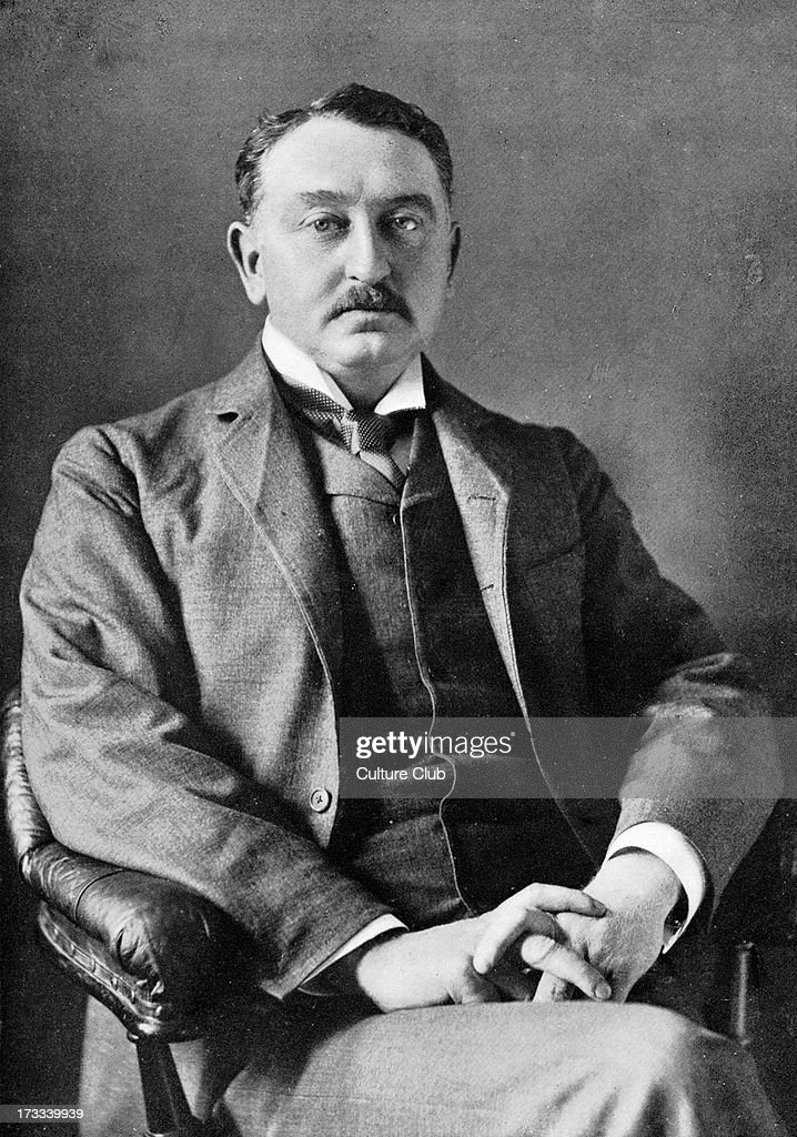 Cecil John Rhodes, portrait c. 1900 : News Photo