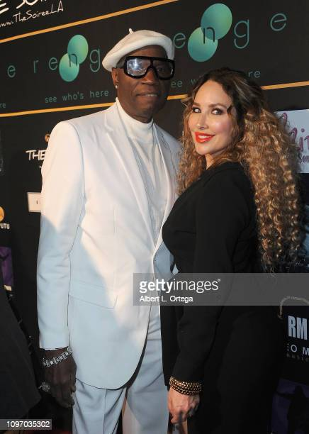 Cecil Parker and Kimberley Bosso attend the 5th Annual The Soiree During GRAMMY Weekend held at The Roxy Theatre on February 9 2019 in West Hollywood...