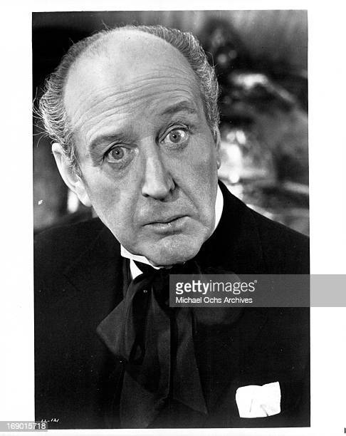 Cecil Parker as Sir Percy in a scene from the film 'Lady L' 1965