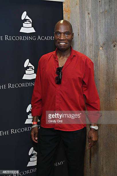 Cecil Parker attends The Recording Academy In the Mix Member Mixer at Stage 48 on July 29 2015 in New York City