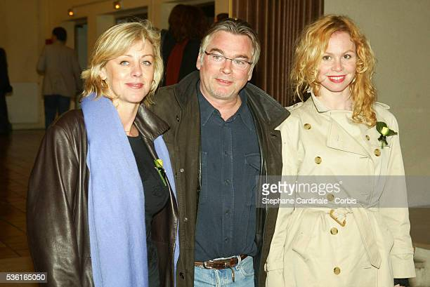 Cecile Auclert Christian Rauth and Carole Richert attend the 22nd Cognac Film Festival Opening Ceremony
