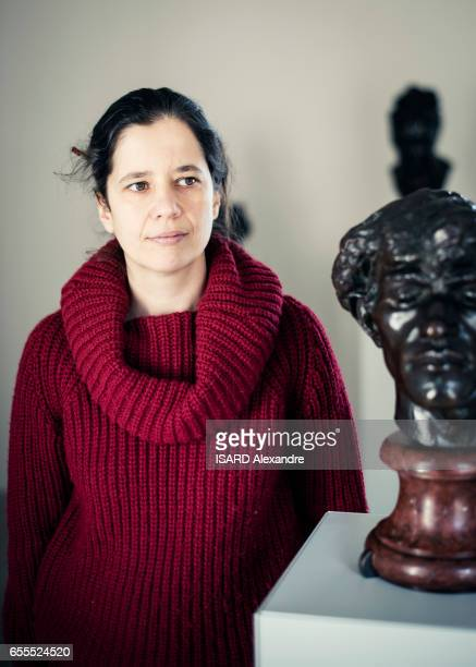 Cecile Bertran curator of the first museum dedicated to the sculptor Camille Claudel on march 03 2017 in Nogentsurseine France
