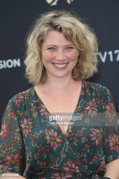 Cecile Bois attends photocall for 'Candice Renoir' on June 17 2017 at the Grimaldi Forum in MonteCarlo Monaco