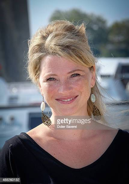 Cecile Bois attends the photocall of 'Candice Renoir' as part of 16th Festival of TV Fiction of La Rochelle on September 11 2014 in La Rochelle France