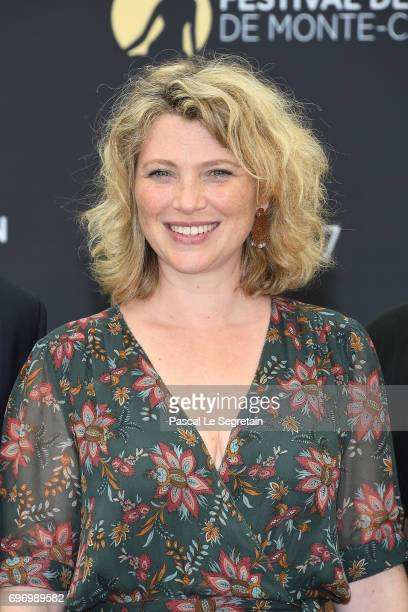 Cecile Bois from 'Candice Renoir' TV Show poses for a Photocall during the 57th Monte Carlo TV Festival Day Two on June 17 2017 in MonteCarlo Monaco