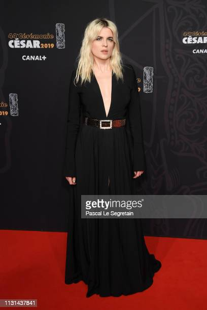 Cecile Cassel arrives at the Cesar Film Awards 2019 at Salle Pleyel on February 22 2019 in Paris France