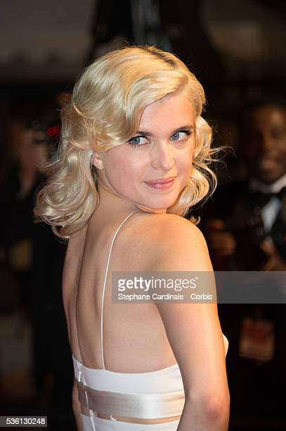 """Cecile Cassel attends at the """"Mon Roi"""" Premiere during the 68th Cannes Film Festival"""