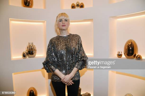 Cecile Cassel attends Christofle SaintHonore Boutique Opening on November 23 2017 in Paris France
