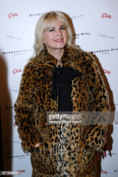 Cecile Cassel attends Reem Kherici signs her book 'Diva' at the Barbara Rihl Boutique on November 8 2017 in Paris France