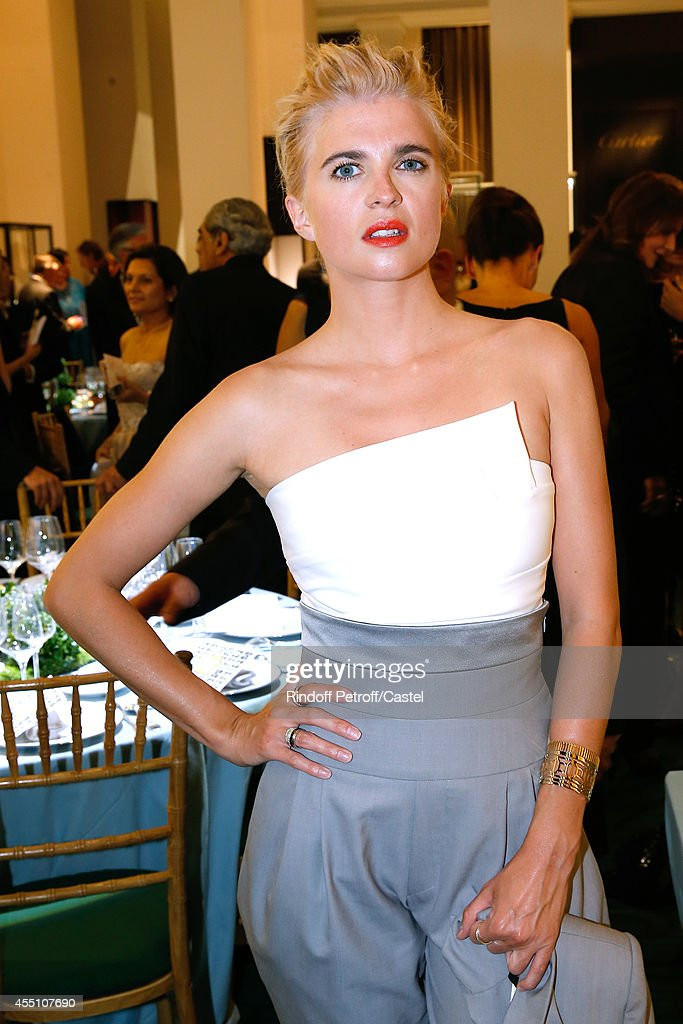 Cecile Cassel attends the 27th 'Biennale des Antiquaires' Pre Opening at Le Grand Palais on September 9, 2014 in Paris, France.