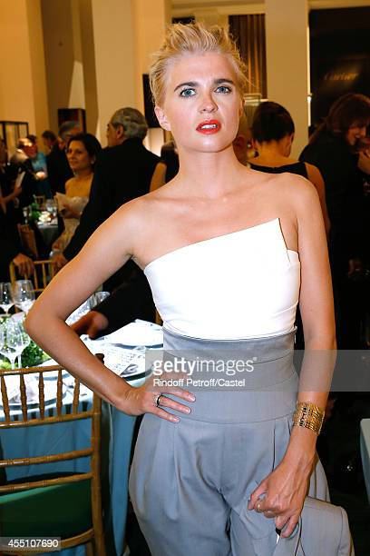 Cecile Cassel attends the 27th 'Biennale des Antiquaires' Pre Opening at Le Grand Palais on September 9 2014 in Paris France