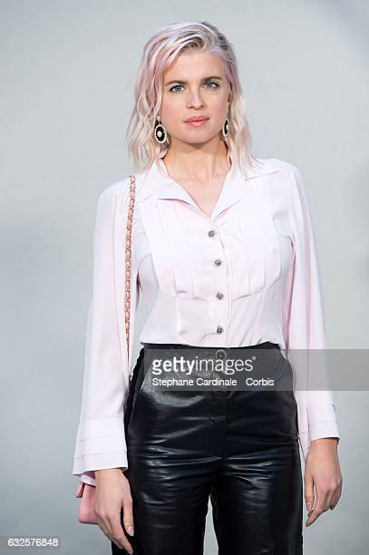 Cecile Cassel attends the Chanel Haute Couture Spring Summer 2017 show as part of Paris Fashion Week on January 24, 2017 in Paris, France.