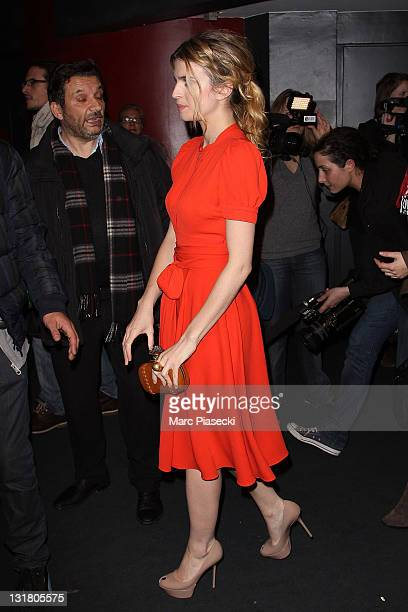 Cecile Cassel attends the 'Toi moi les autres' premiere at UGC Cine Cite des Halles on February 21 2011 in Paris France