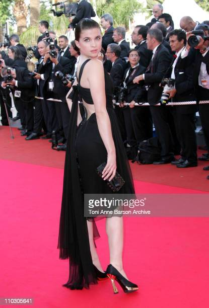 Cecile Cassel during 2007 Cannes Film Festival 'Le Scaphandre et le Papillon' Premiere at Palais des Festival in Cannes France