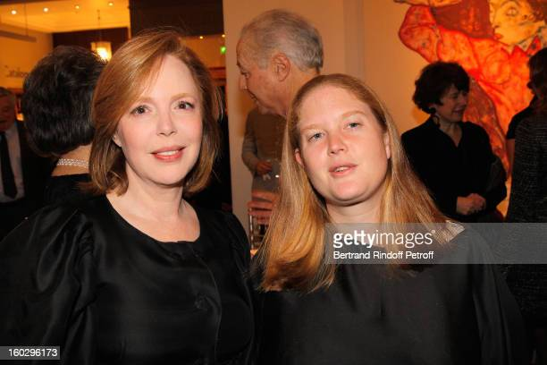 Cecile DavidWeill and Agathe Mordacq attend a dinner in honor of Helene DavidWeill who presided through 1994 2012 Les Arts Decoratifs one of the...