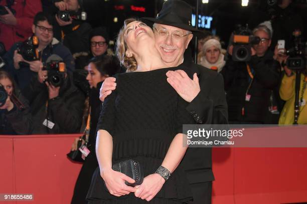 Cecile de France and Dieter Kosslick attend the Opening Ceremony 'Isle of Dogs' premiere during the 68th Berlinale International Film Festival Berlin...