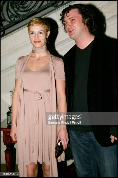 Cecile De France and Pierre Buisseret at Exclusive - Party For the Belgian 2006 Cesar Nominees .