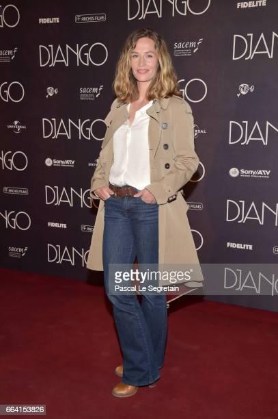Cecile de France attends 'Django' Premiere at Le Grand Rex on April 3 2017 in Paris France