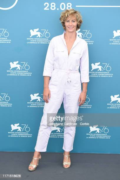 Cecile De France attends The New Pope photocall during the 76th Venice Film Festival at Sala Grande on September 01 2019 in Venice Italy