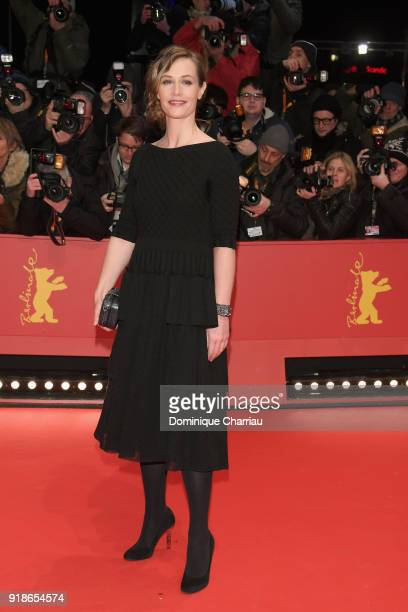 Cecile de France attends the Opening Ceremony 'Isle of Dogs' premiere during the 68th Berlinale International Film Festival Berlin at Berlinale...
