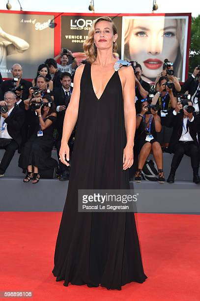 Cecile De France attends the premiere of 'The Young Pope' during the 73rd Venice Film Festival at Palazzo del Casino on September 3, 2016 in Venice,...