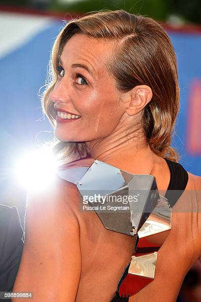 Cecile de France attends the premiere of 'The Young Pope' during the 73rd Venice Film Festival at Palazzo del Casino on September 3 2016 in Venice...