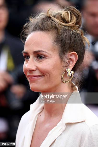 Cecile de France attends the screening of 'Everybody Knows ' and the opening gala during the 71st annual Cannes Film Festival at Palais des Festivals...