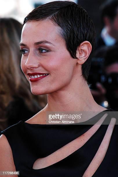 Cecile de France during 2004 Cannes Film Festival Comme Une Image Premiere at Palis Du Festival in Cannes France France