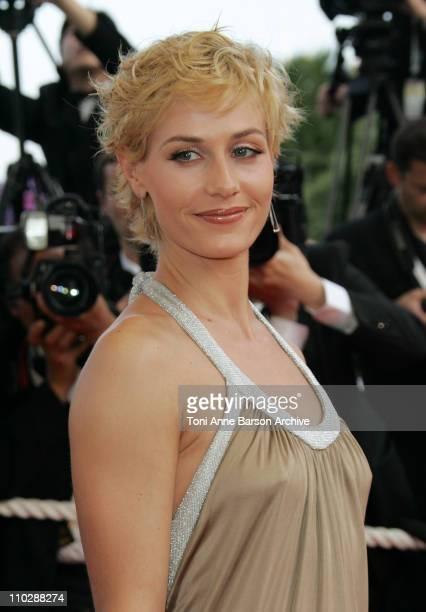 Cecile De France during 2006 Cannes Film Festival Palme D'Or Arrivals at Palais des Festivals in Cannes France