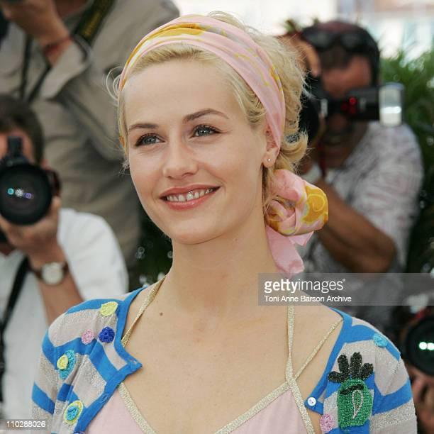 Cecile de France during 2006 Cannes Film Festival Quand J'Etais Chanteur Photo Call at Palais des Festival Terrace in Cannes France