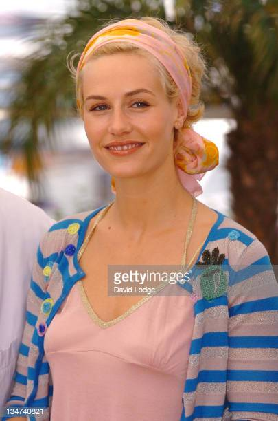 """Cecile de France during 2006 Cannes Film Festival - """"Quand J'Etais Chanteur"""" Photo Call at Palais des Festival Terrace in Cannes, France."""
