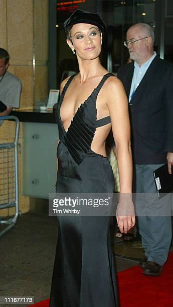 Cecile de France during Around the World In 80 Days European Premiere Arrivals at Vue West End Leicester Square in London Great Britain
