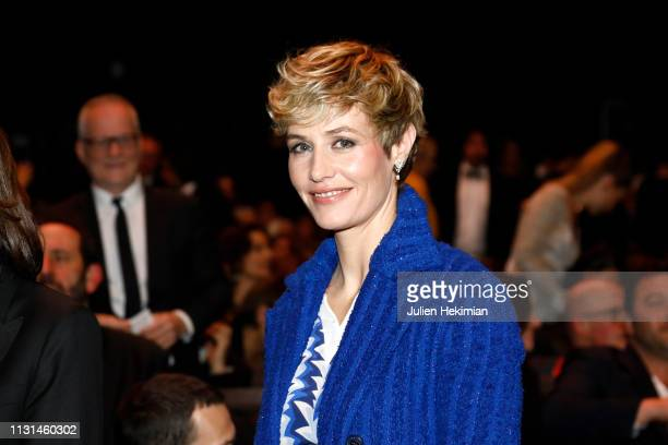 Cecile de France poses during the Cesar Film Awards 2019 at Salle Pleyel on February 22 2019 in Paris France