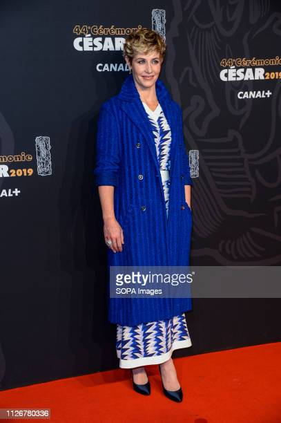 Cecile De France seen on the red carpet during the Cesar Film Awards 2019 at the Salle Pleyel in Paris France