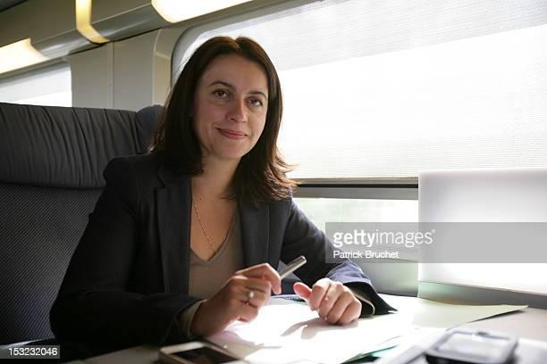 Cecile Duflot Attends 82e Congress