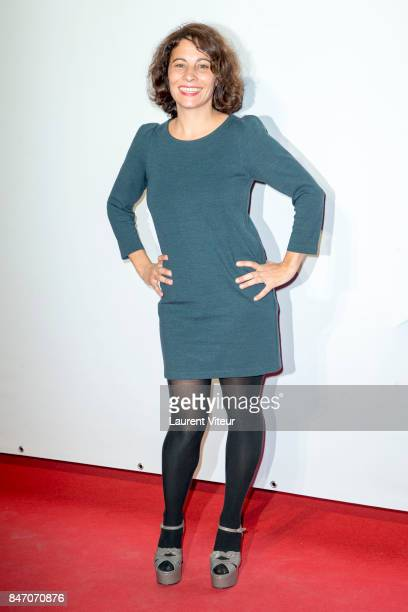Cecile Rebboah attends Les Bracelets Rouge Photocall during the 19eme Festival of TV Fiction on September 14 2017 in La Rochelle France