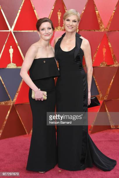 Cecile Richards and Lily Adams attend the 90th Annual Academy Awards at Hollywood Highland Center on March 4 2018 in Hollywood California